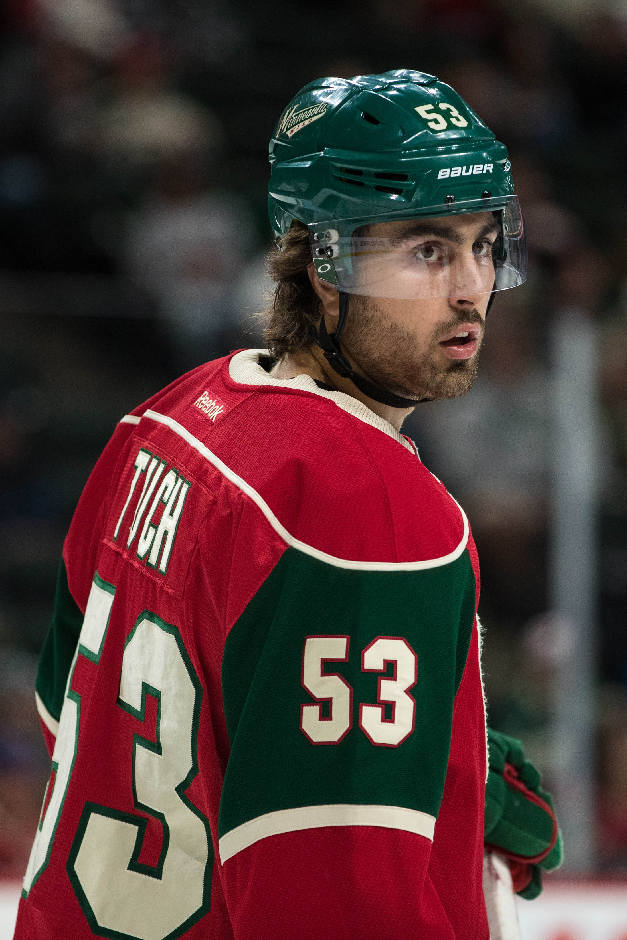more photos 88840 91b43 Wild Recall Alex Tuch, Waive Tyler Graovac | Pro Hockey Rumors