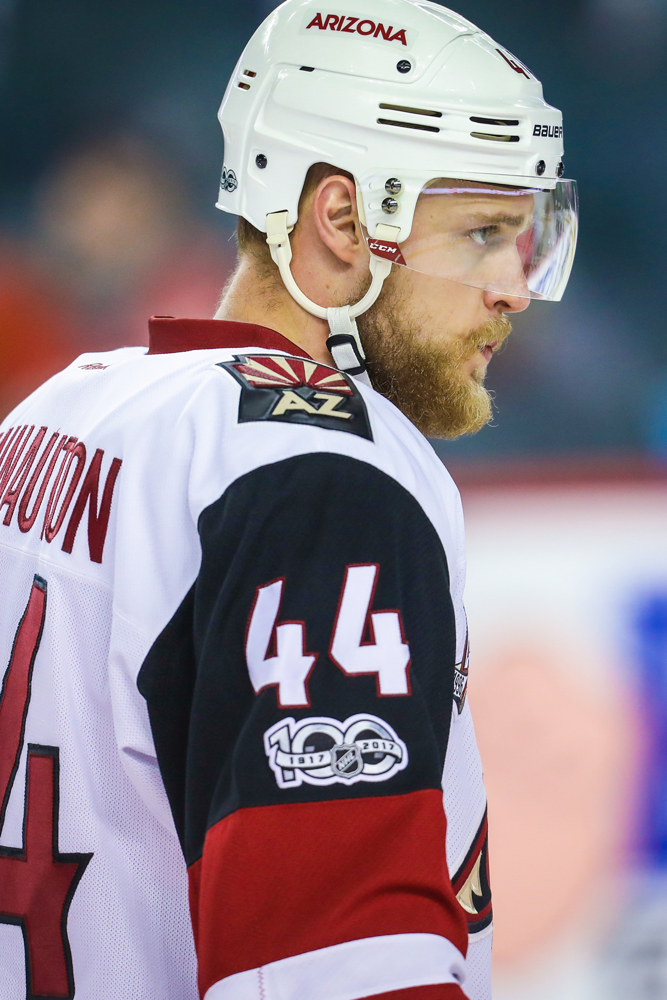 The 28-year old defenseman finished third on the Coyotes in scoring by  defensemen with 21 points 7e4a5bd75