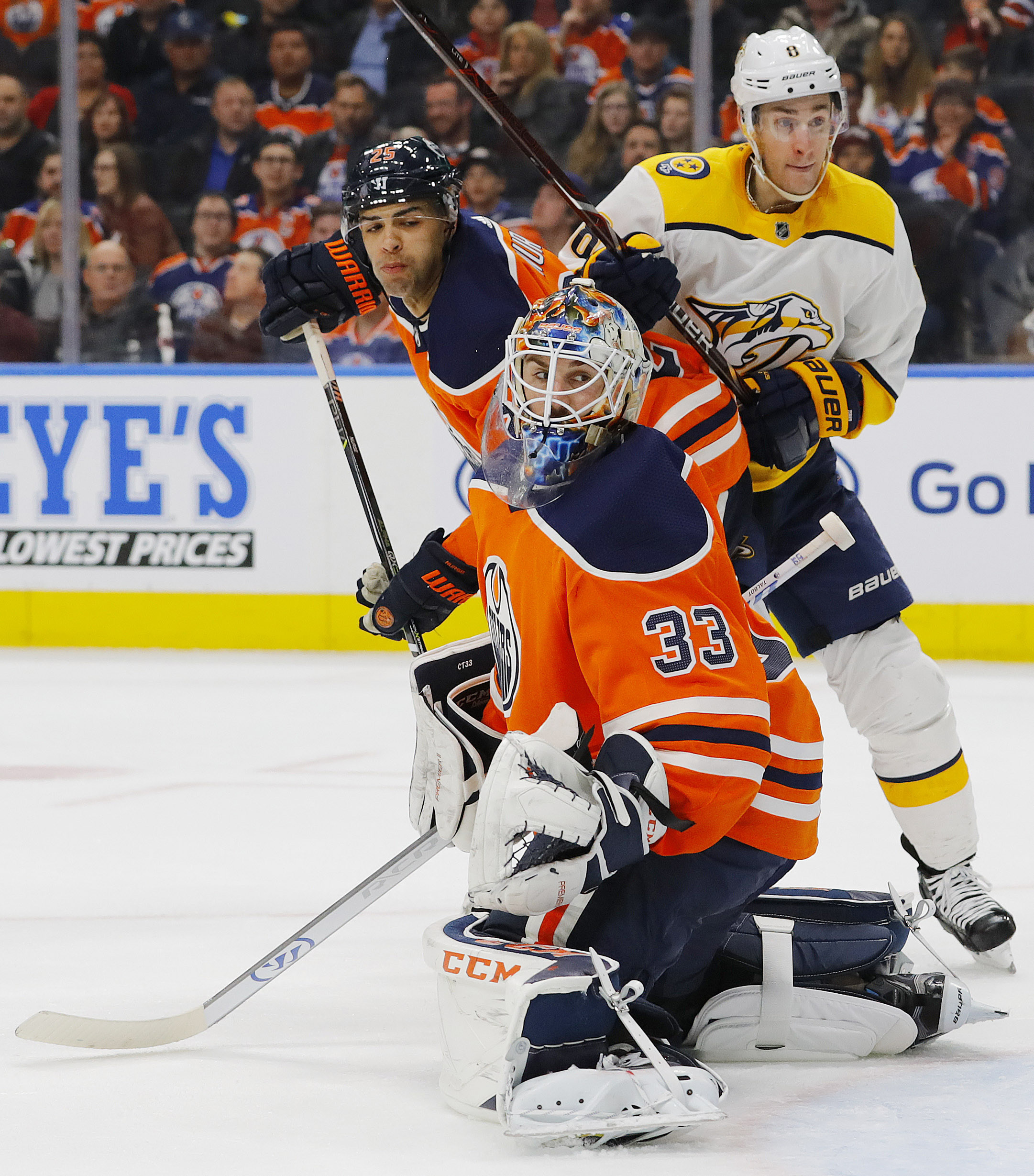 a4950f5504c The team has many decisions to make with their goaltending next season. All  three goaltenders are on one-year deals and will have to prove their value  to ...