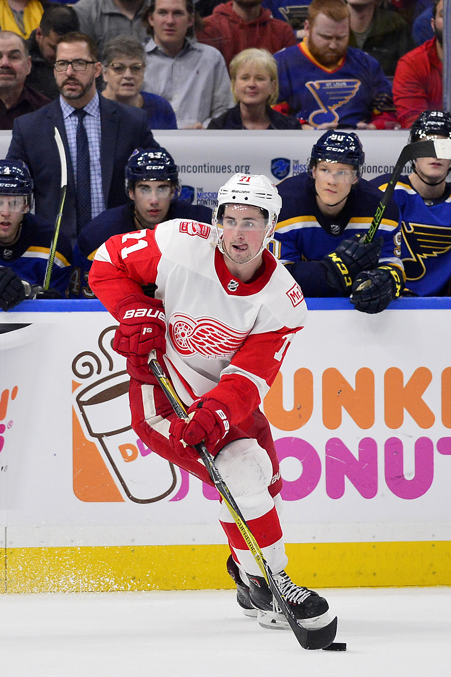 6e9b73149 Larkin Locked Up  Detroit got their top remaining restricted free agent  locked up by signing center Dylan Larkin to a five-year
