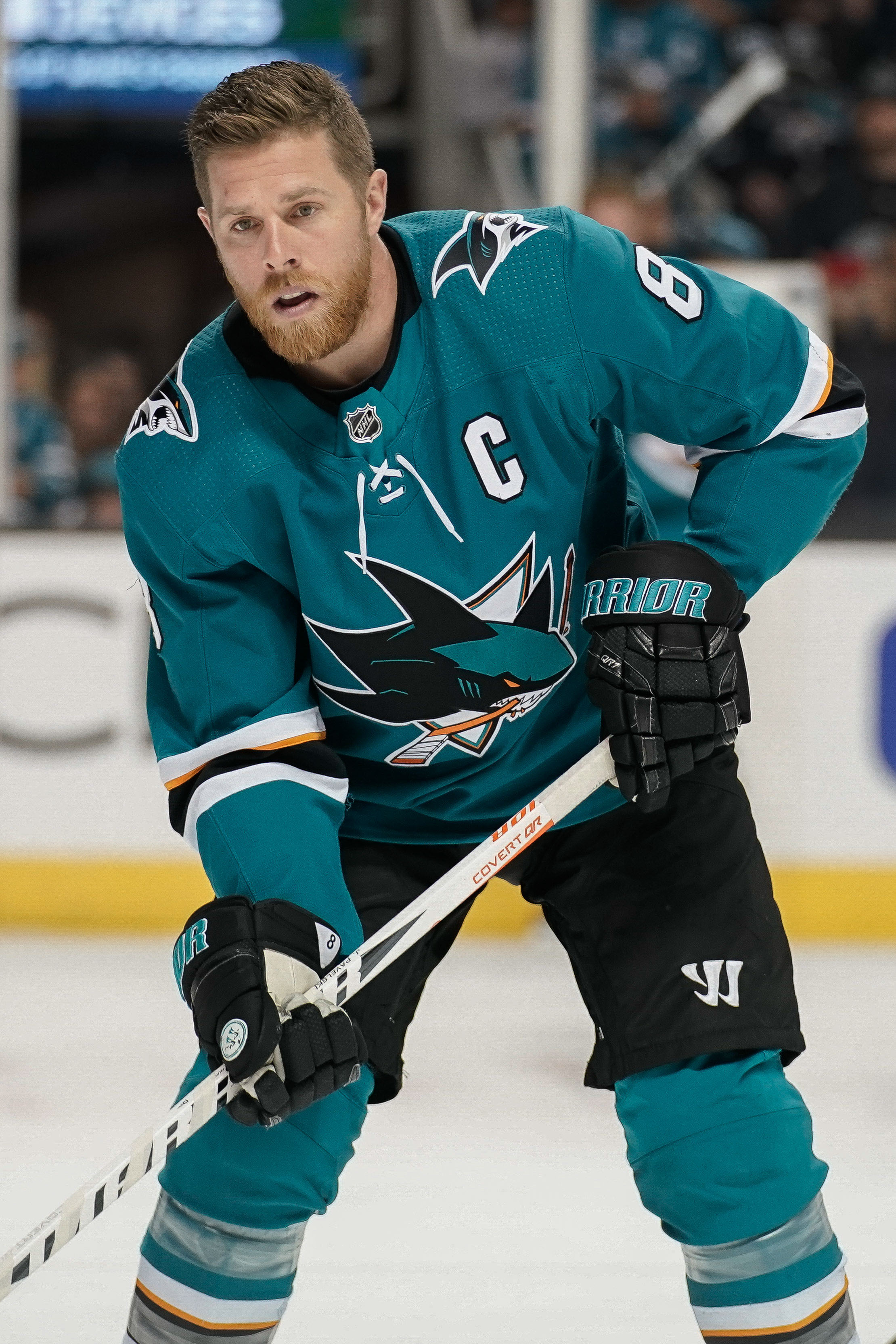 Much of the Sharks success in the next few years will come down to the play  of Thornton and Pavelski 84089f138fa2