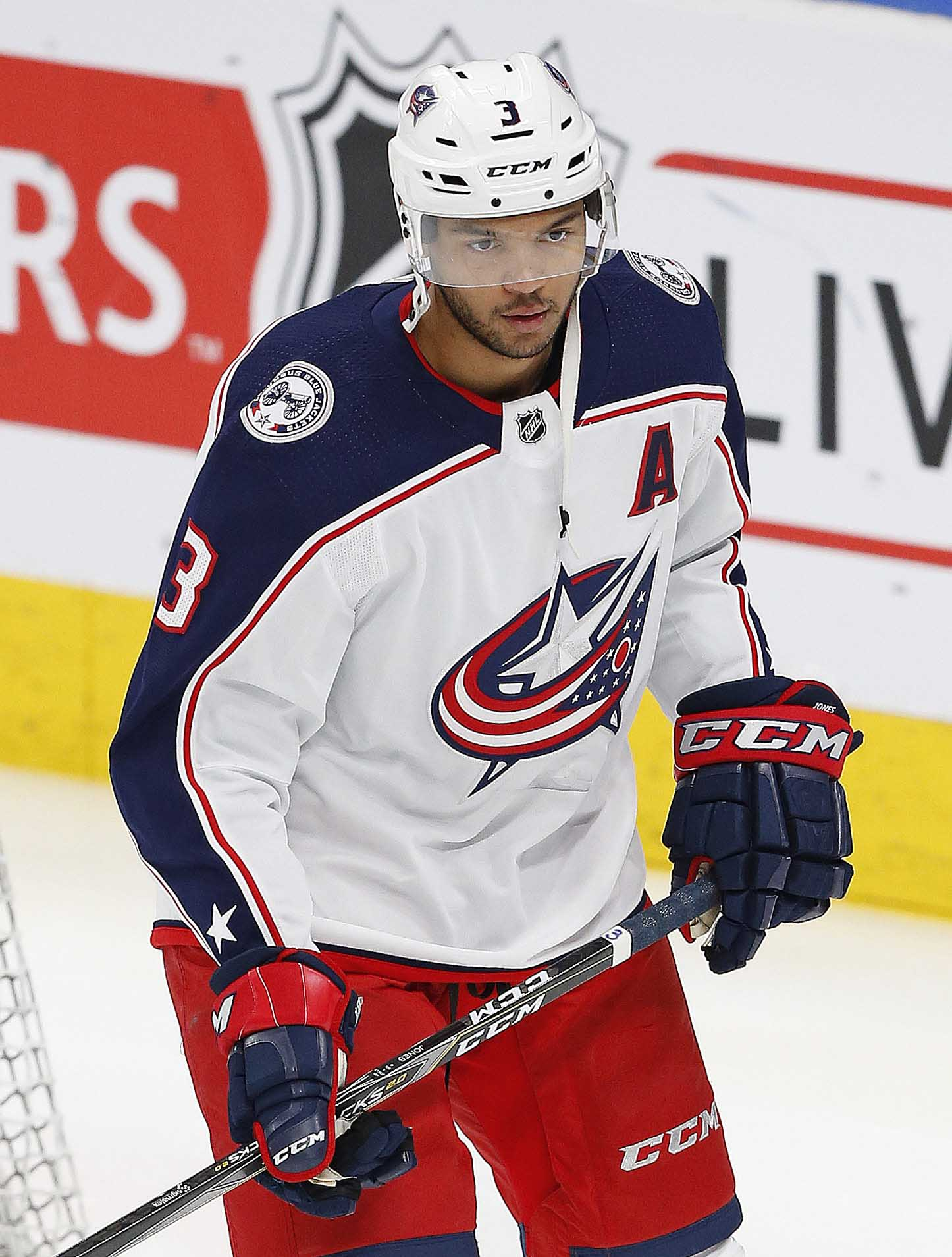 Jones had a breakout season for the Blue Jackets and could 1048fc8b9fe3